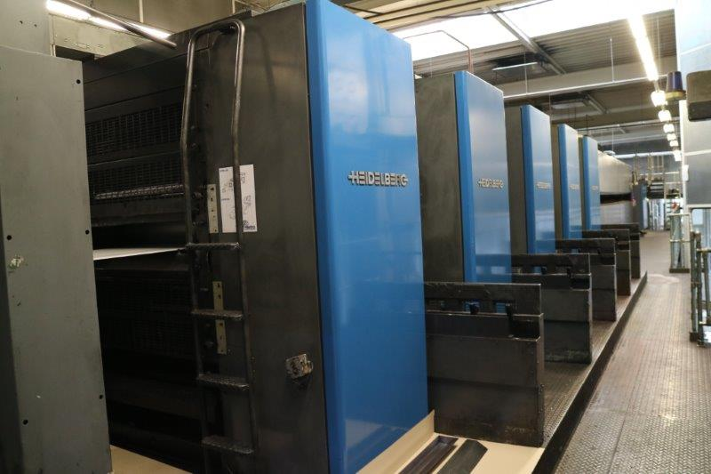 Heidelberg M600 Two Web Offset Printing Presses - Sold - JanusTech